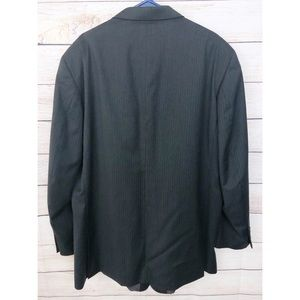 Kenneth Cole Suits & Blazers - Kenneth Cole 50L Black Gray Wool Sports Coat